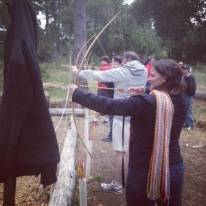 Camp Improv Utopia archery
